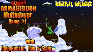 Worms Armageddon Multiplayer Online - Game #1