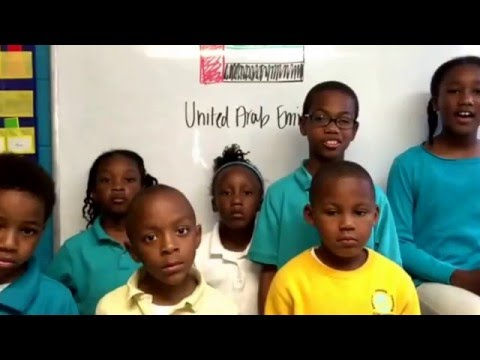 Global Purpose Academy students share what they have learned about Dubai (UAE).
