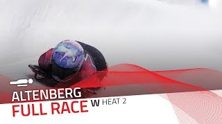 Altenberg | BMW IBSF World Cup 2018/2019 - Women's Skeleton Heat 2 | IBSF Official