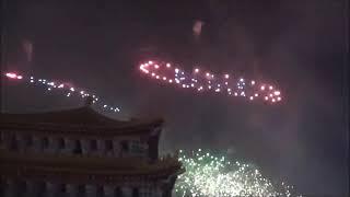 2020 02 08日 台南土城正統鹿耳門聖母廟高空煙火