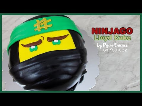 ninjago movie quotlloydquot cake renee conner youtube
