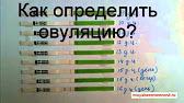 Тесты на овуляцию - YouTube