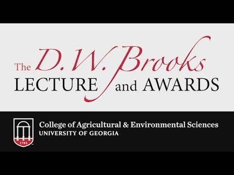 2017 DW Brooks Lecture Dr Nina Federoff