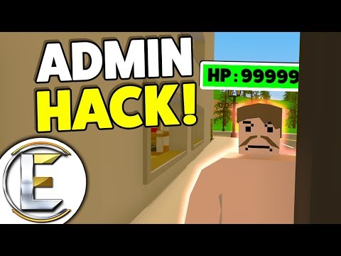 God Mode Hacker? - Unturned RP Admin Abuse Trolling (When Roleplay Goes Wrong!)