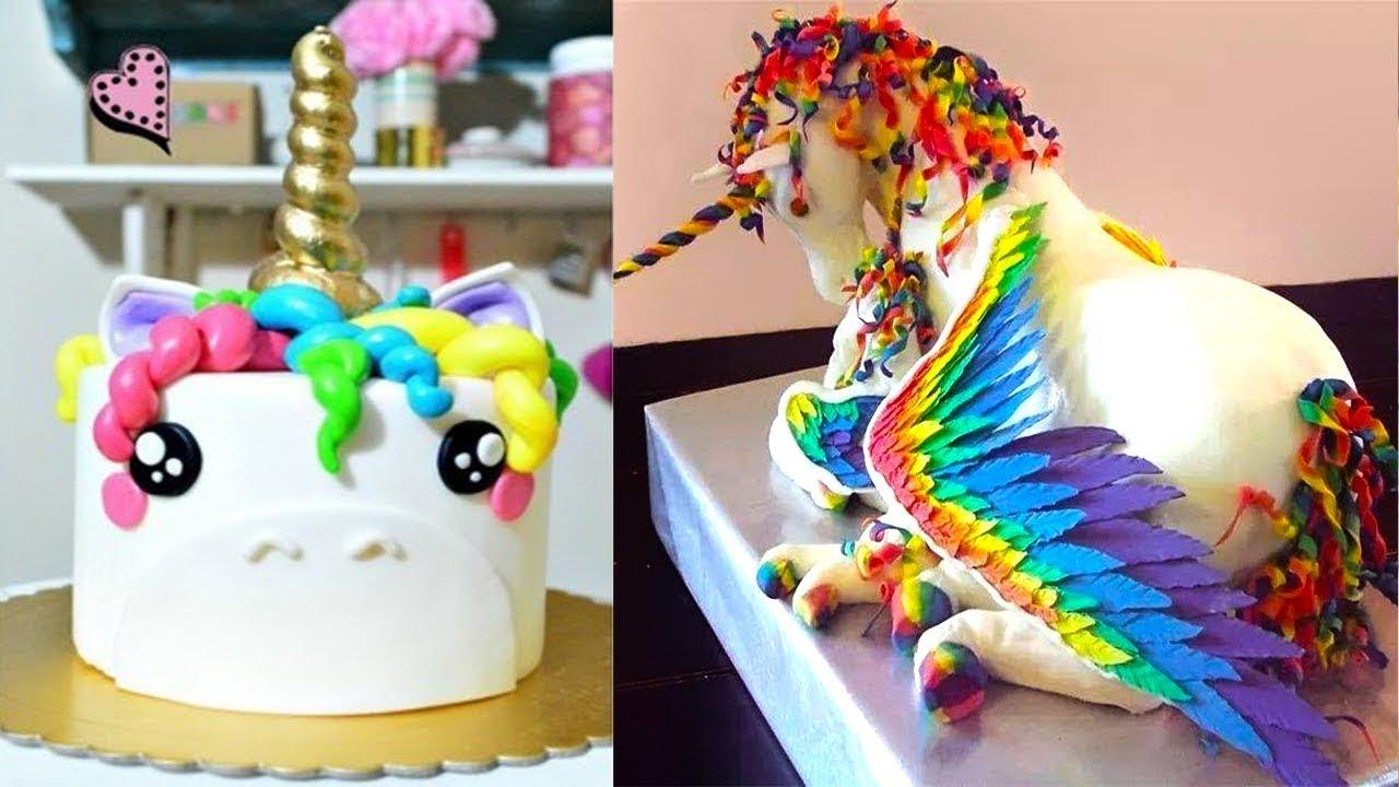 Decoracion de un pastel de unicornio paso a paso tasty for Decoracion para pared de unicornio