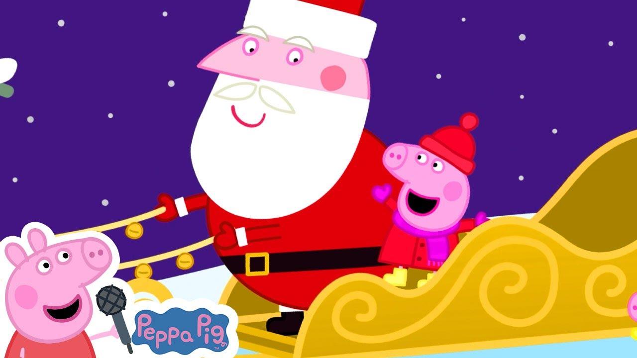 Jingle Bells   Christmas Songs for Kids   Peppa Pig Songs   Nursery Rhymes + Kids Songs