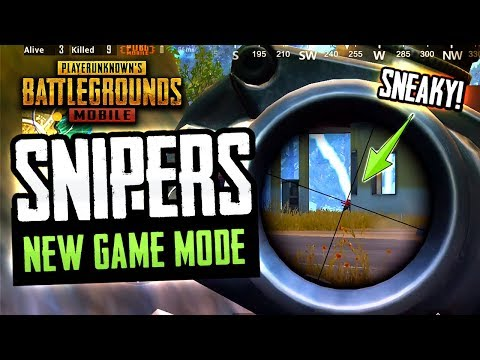 NEW SNIPERS ONLY MODE! Watch Your Head! PUBG Mobile