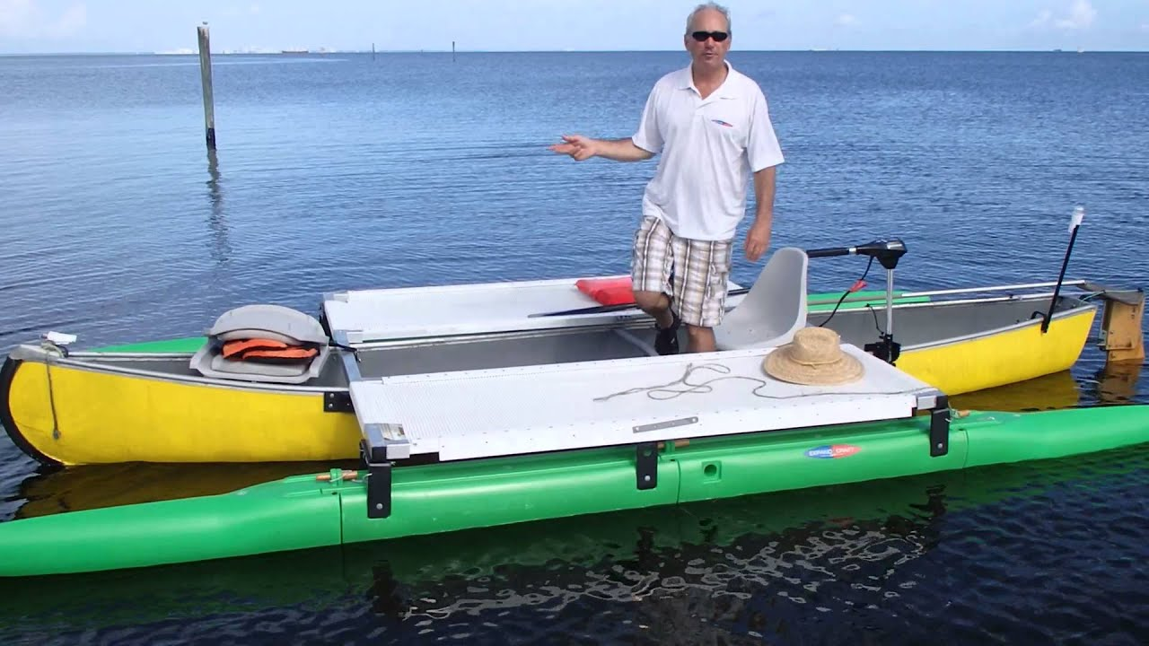 Outrigger canoe kit from Expandacraft | Doovi