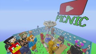 Minecraft Xbox - Hide and Seek - Youtuber Picnic