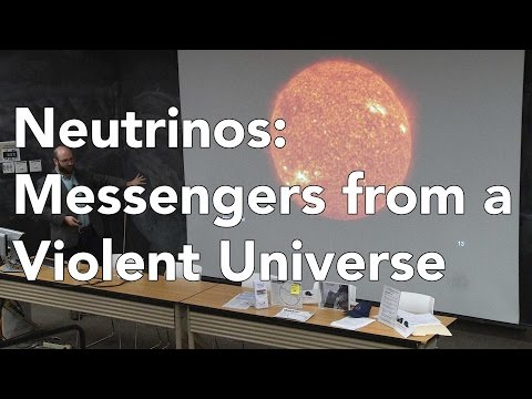 Neutrinos: Messengers from a Violent Universe