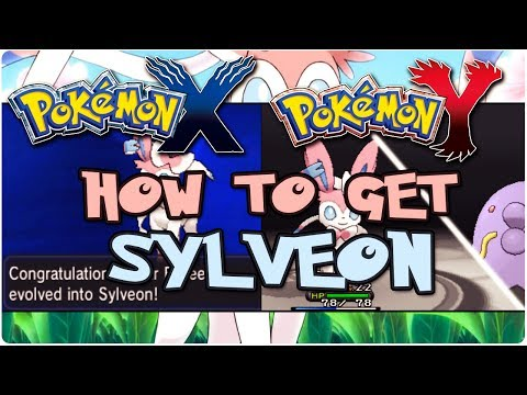 How To Make Eevee Evolve Into Sylveon!