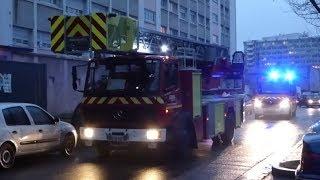 Sapeurs Pompiers Lyon (Engins Incendie compilation)