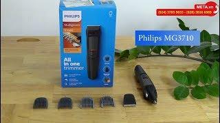 Tút lại vẻ đẹp trai với máy cạo tỉa đa năng 6 trong 1 Philips MG3710