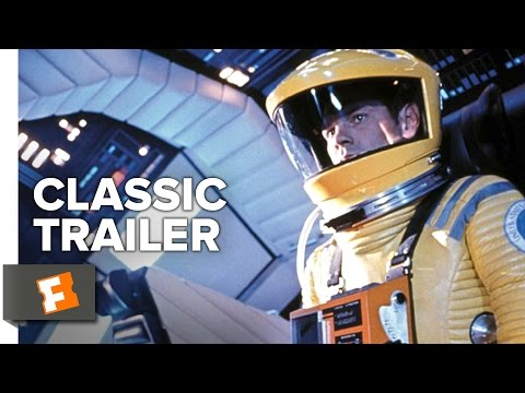 2001: A Space Odyssey (1968) Official Trailer - Stanley Kubrick Movie HD