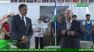 В Ингушетии открыли зал тяжелой атлетики