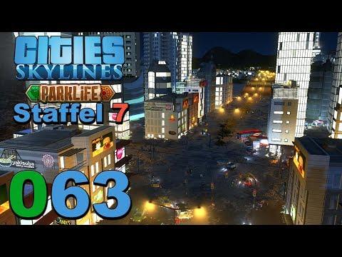Fieße Flut 🌇 [S7 063] Let's Play Cities Skylines Parklife DLC  
