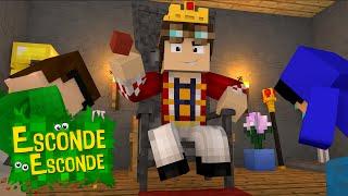 Minecraft: MELHORES MOMENTOS 2! (Esconde-Esconde)