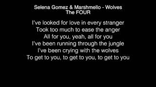 The FOUR - Wolves Lyrics (Selena Gomez) Zhavia/Candice/Vincent…