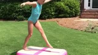 Isabelle roberts amazing 8 year old gymnast
