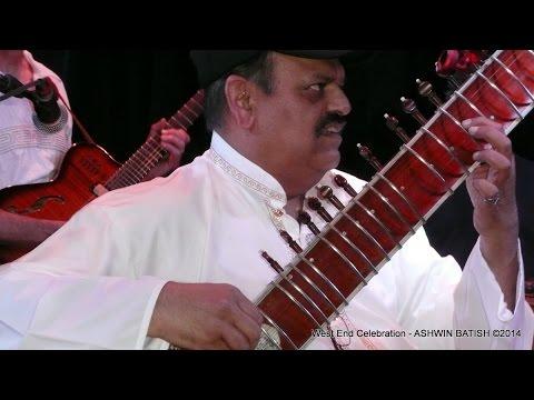 Sitar Trek - Raga  Sundar Kauns Jazz, Worldbeat, Fusion Concert. Ashwin Batish @ Kuumbwa Jazz
