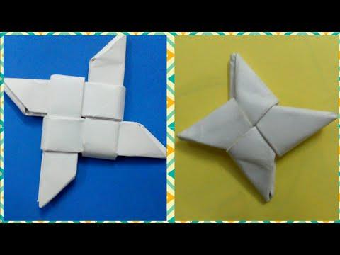 How To Make Ninja Stars | 2 DIY | Origami | Tools Tech