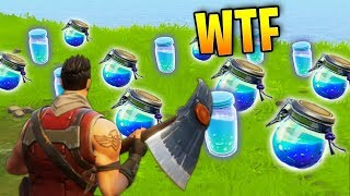 POTION DE BOUCLIER ILLIMITÉE Fortnite Best Stream Moments #19 (Battle Royale)