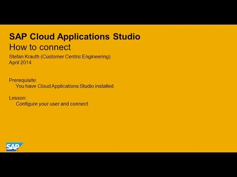 how to unscope cloud application studio