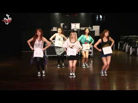 開始Youtube練舞:Pretty Pretty-Ladies Code | Dance Mirror