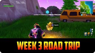 (Fortnite Road Trip Challenge) Free Battle Pass Star Location!