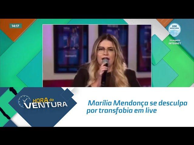 Marília Mendonça se desculpa por transfobia em live