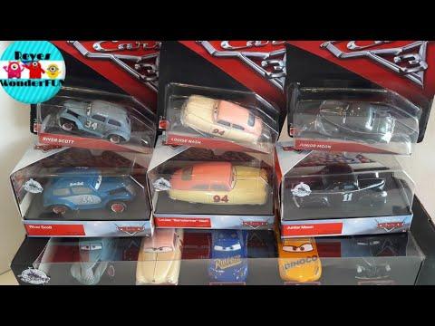 Disney Cars 3 Louise Nash River Scott Junior Moon Review Scale 1 43 And 1 55 Disney Store Mattel