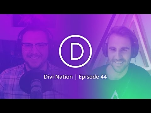The Logistics of Doing a Divi Client Site in 24 Hours Featuring Jake Kramer - Divi Nation, Ep 44