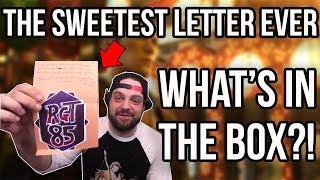The SWEETEST Letter EVER!   RGT 85 What's in the BOX?!