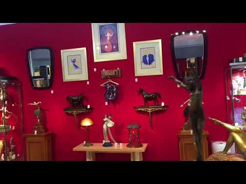 Our stand at the Winter Art & Antiques Fair Olympia