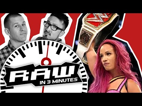 WWE RAW in 3 MINUTES: 3 October 2016 This Week's Highlights