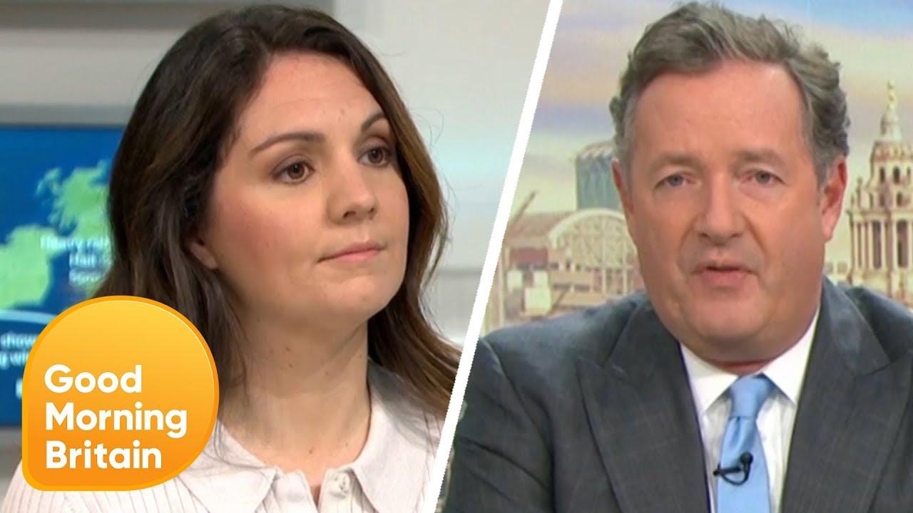 How things change  Piers Morgan now the voice of the nation