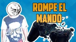 BROMA ROMPE EL MANDO CONTRA EL SUELO