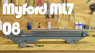 Myford Lathe Restoration - Part 8 Lathe Bed