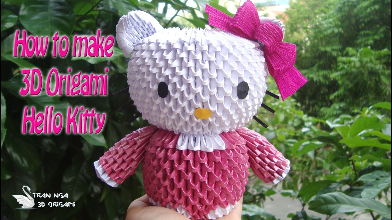 Hello Kitty 3d Origami Diagram Paper Wire Diagrams Free Download How To Make Diy Tutorials