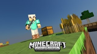 Minecraft PE 0.11.1 : SkyWars - Temos Diamantes xD