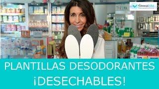 Plantillas Desodorantes de usar y tirar ¡¡Lo más Nuevo en Farmacias¡¡