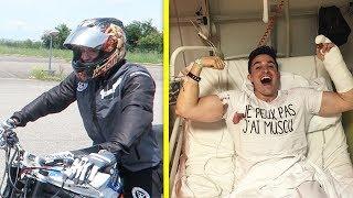 MON ACCIDENT EN MOTO (LE BILAN)