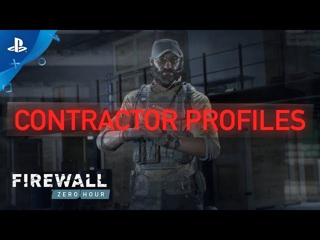 Firewall Zero Hour - Character Profiles | PS VR