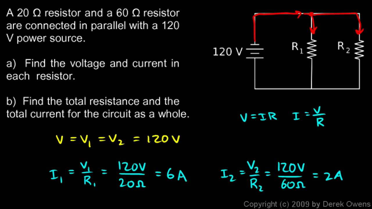 Physics 13 4 2e - Parallel Circuit Example