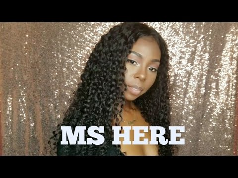 Ms Here Aliexpress Company| Curly Hair Initial Review| Forever Tati