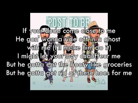 Omarion ft. Chris Brown  & Jhene Aiko - Post To Be (Lyrics)