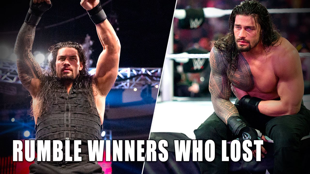 Royal Rumble Gewinner