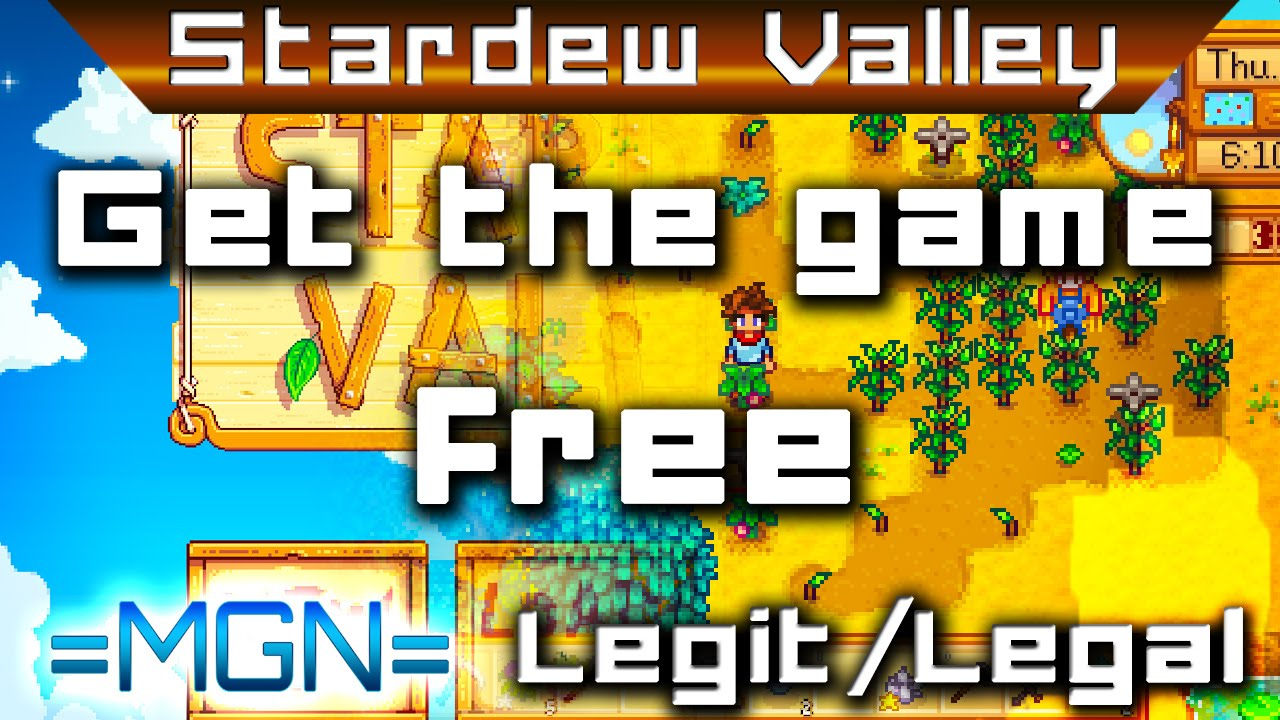 Stardew Valley - Download for free, legit & legal -- Apply for press copies!