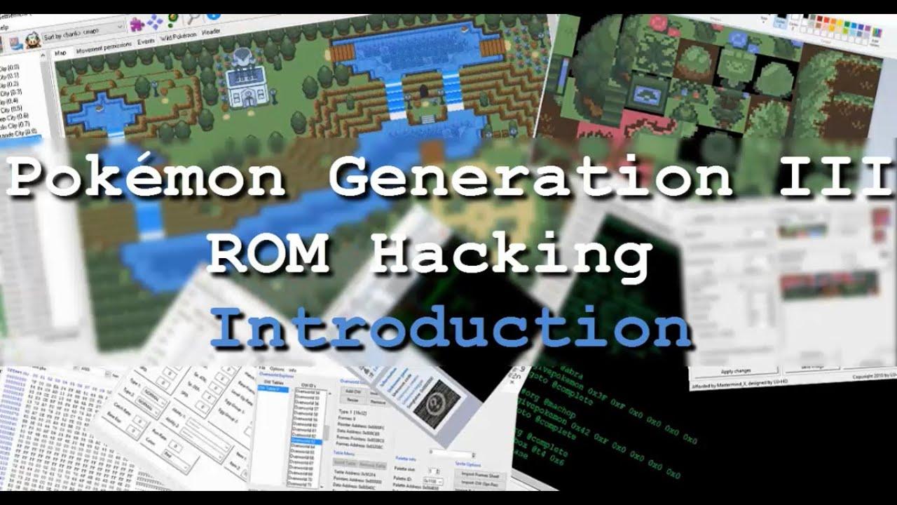 pokemon gen 3 rom hacking suite