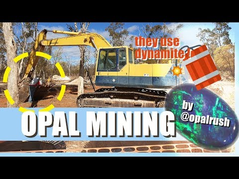 Opal Mining At Lightning Ridge: They Had To Use DYNAMITE! ⭐